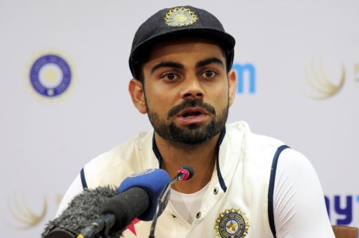 Bengaluru: Indian captain Virat Kohli addresses during a press conference at M Chinnaswamy Stadium in Bengaluru, on Nov 18, 2015. (Photo: IANS)