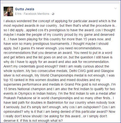 Jwala FB Post