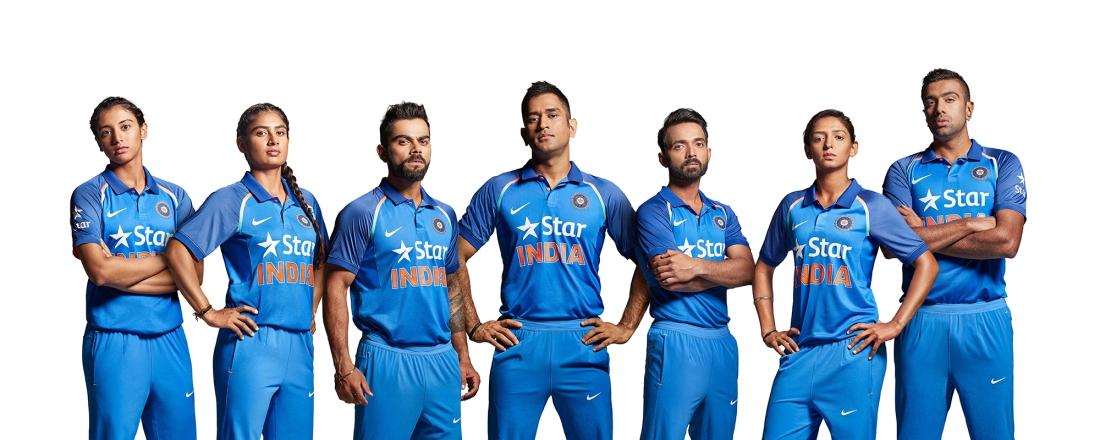 Team India In New Avatar