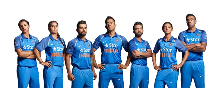 Team India In New Avatar