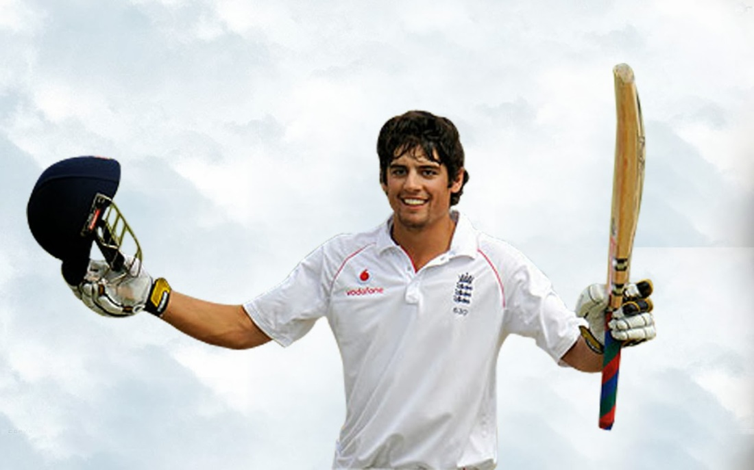 Cook, England's leading scorer in Tests with 11,057 runs