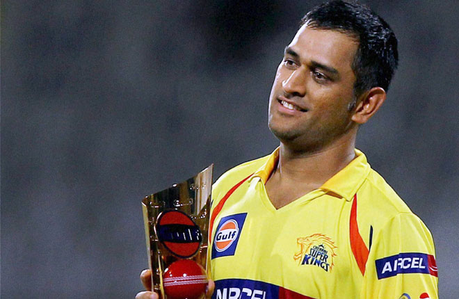 Dhoni For CSK