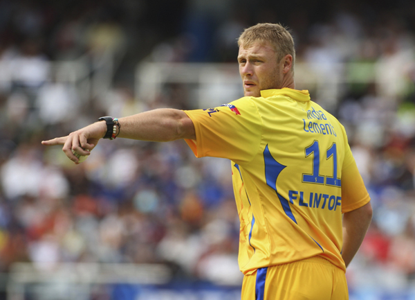Flintoff For CSK