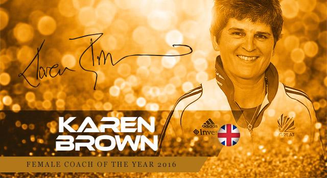 Karren Brown.