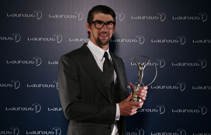 Michael Phelps Won 'Comeback Of The Year' Award