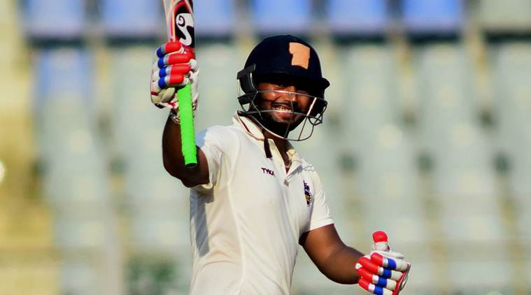 Pant After Scoring Fastest Century In Just 48 Balls In Ranji Against Jharkhand