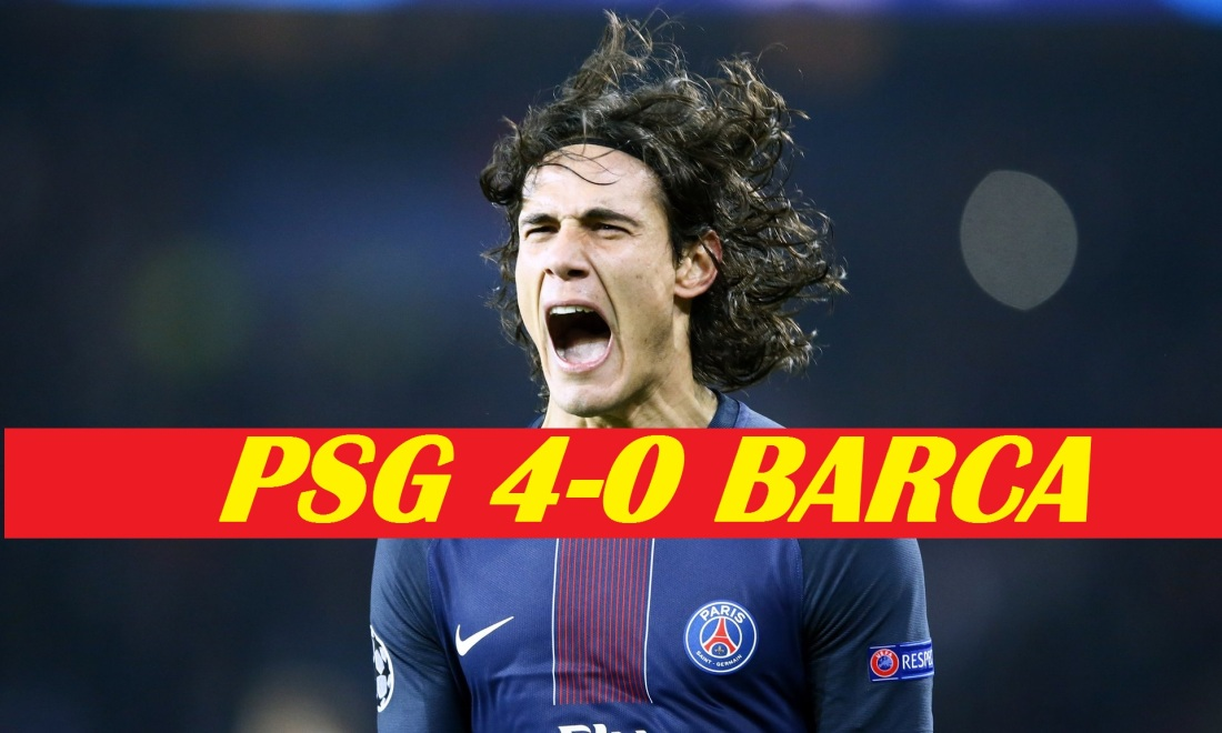 Thats' How It Ended, PSG 4-0 Barca