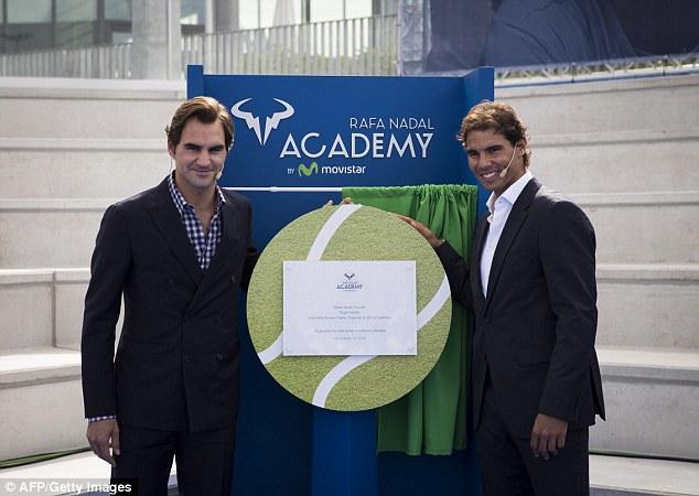 Fed & Nadal On Inauguration of Rafa Nadal Academy