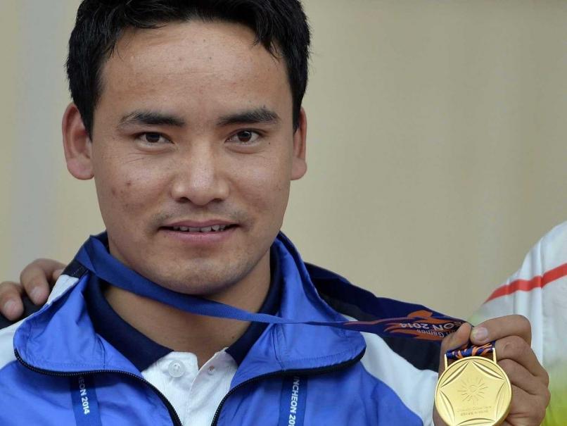 Jitu Rai Gold Medalist 50m Air Pistol Event ISSF World Cup 2017