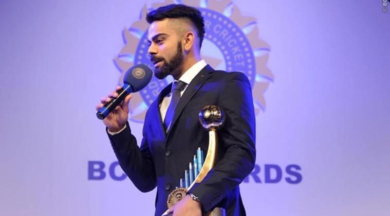 Virat Kohli Awarded With Polly Umrigar Award
