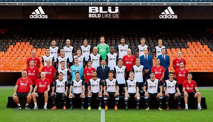 Valencia C.F. squad pic