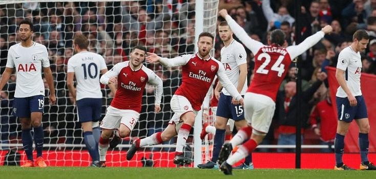 Arsenal vs Tottenham Live Stream
