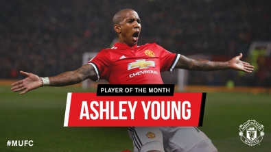 Young won the club's POTM